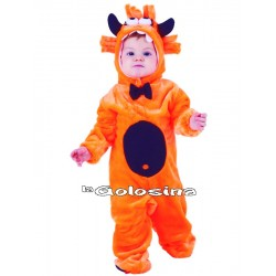 Disfraz Niño: Monstruo naranja.