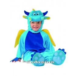 Disfraz Niño: Dragon azul.