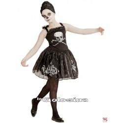Disfraz Niña: Skullerina.