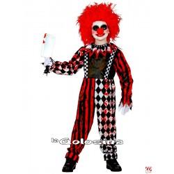 Disfraz Niño: Horror Clown.
