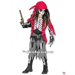 Disfraz Niño: Pirata esqueleto.