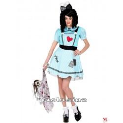 Disfraz Muñeca azul.