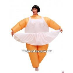 Disfraz Ad. Bailarina Hinchable