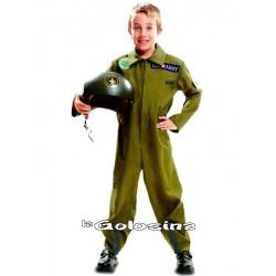 Disfraz Inf. Nino Top Gun aviador piloto