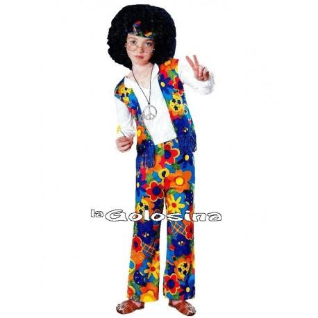 Disfraz Inf. Nino Hippie chico