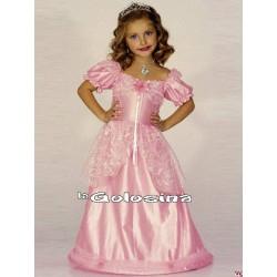 Disfraz Inf. Nina: Princesa rosa