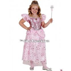 Disfraz Inf. Nina Princesa Rosa