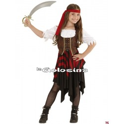 Disfraz Inf. Nina Pirata chica