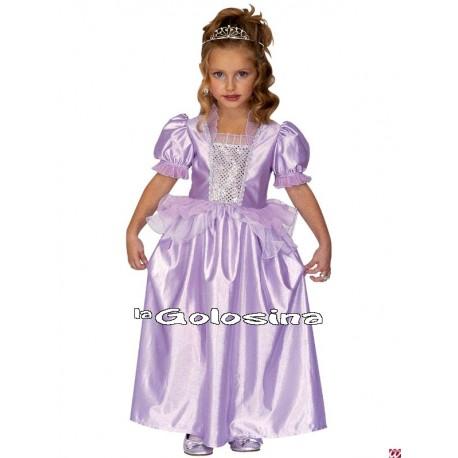 Disfraz Inf. Nina Princesa Purpura