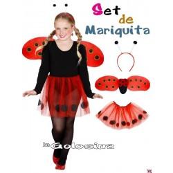 Set de Mariquita INFANTIL