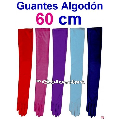 Guantes de ALGODON de 60 cm
