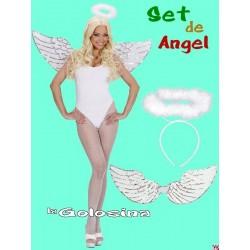 Set de Angel alas y diadema