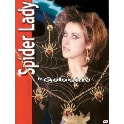 Set Mujer Arana Bruja Collar y 1 pendiente