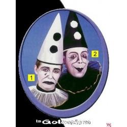 Set clown blanco