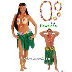 Set de flores Hawaiano